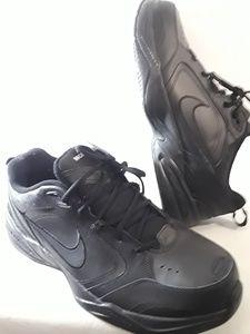 Nike Air Monarch IV Black Referee Shoes Size 15